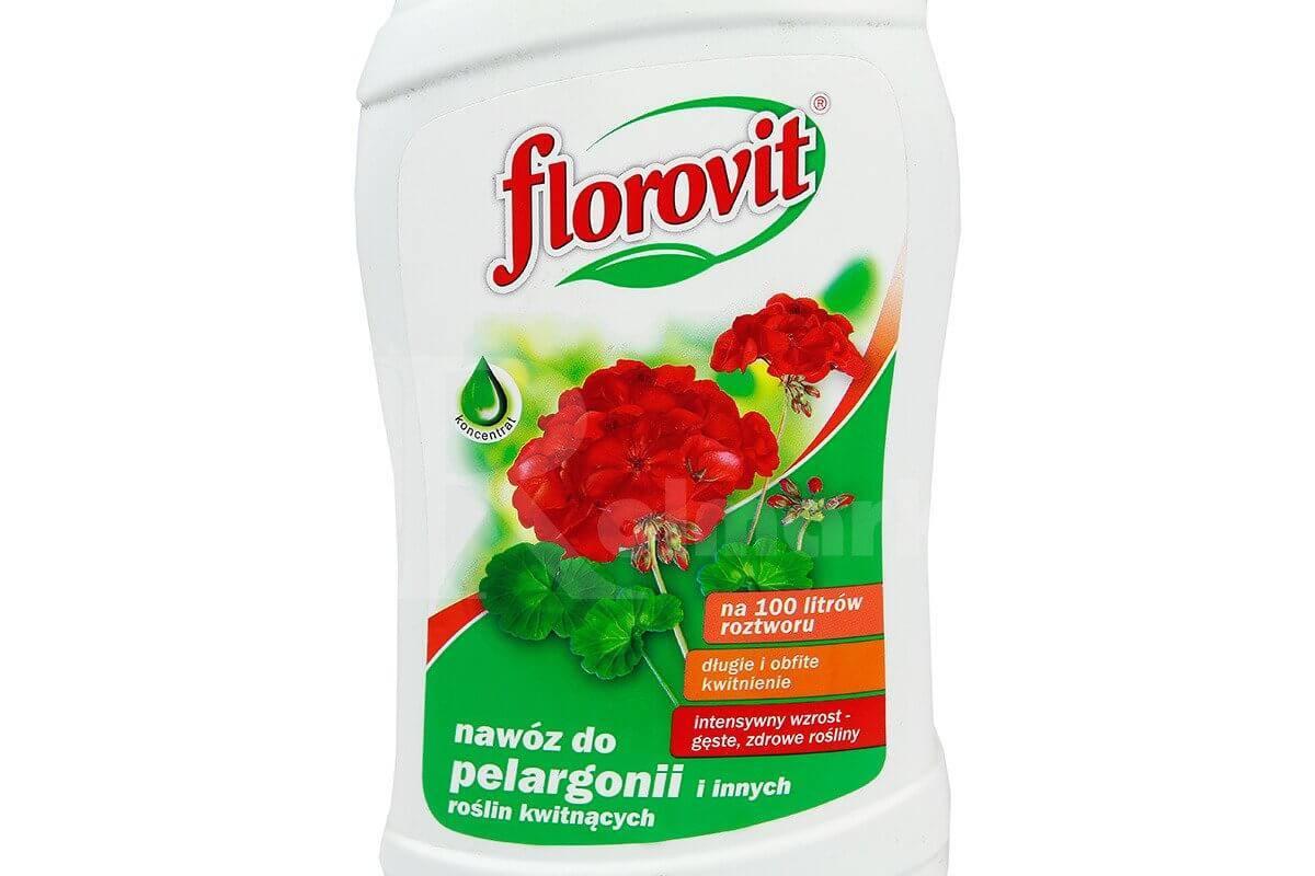 Florovit Nawóz Do Pelargonii I Innych Roślin Kwitnących 1l