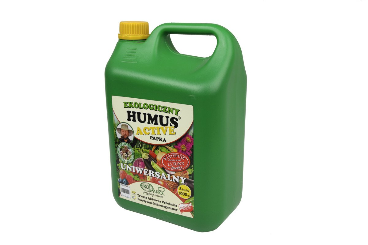 Humus Active Papka 5 L Ekologiczny Polepszacz Glebowy