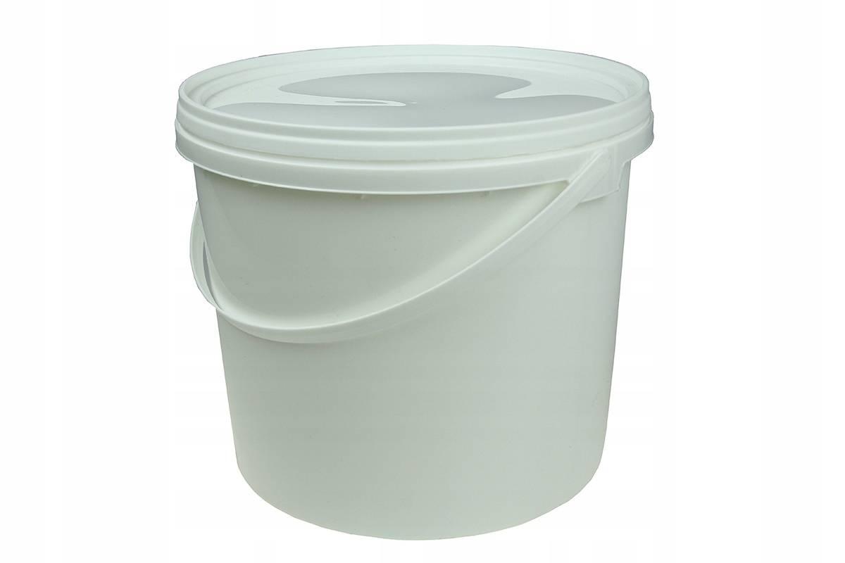 Wiadro Plastikowe Z Pokrywą Wiaderko Spożywcze Z Atestem Do