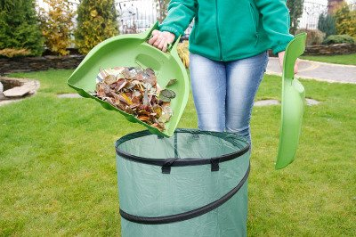 Zgarniacz, grabie do liści i skoszonej trawy oliwka IGLIS1-370U (komplet 2 szt)