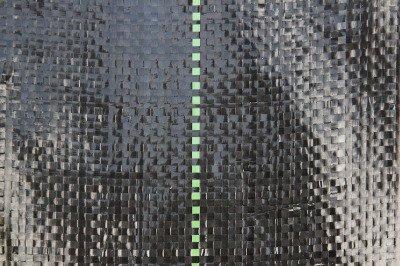 Agrotkanina czarna 4x100m (70g) + szpilki mocujące 19cm (100szt)