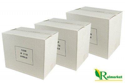Bezbarwna taśma pakowa, samoprzylepna Eco Solvent 48mm x 60 yd (108szt.)