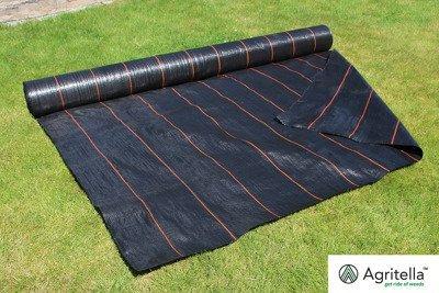 Gruba agrotkanina czarna 3,2x100m (105g)