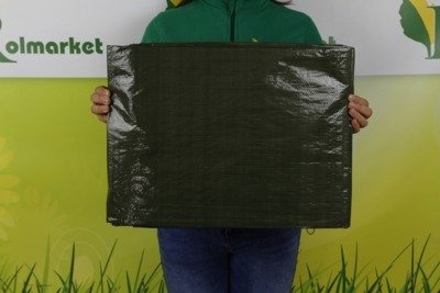 Gruba plandeka okryciowa zielona 3x4m 90gram