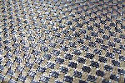 Mata osłonowa technorattanowa brązowa 1x25m