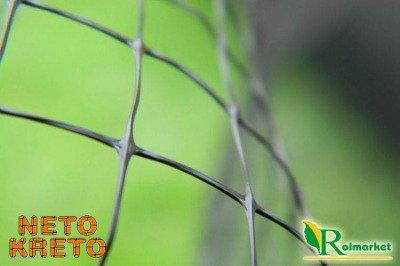 Neto Kreto - hiszpańska siatka przeciw kretom, na krety, oczko 10x10 - 1,5x500m