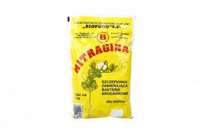 Nitragina 1 ha Szczepionka zawierająca bakterie brodawkowe dla nasion nostrzyku 300 g