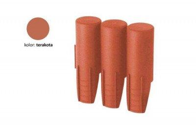 Palisada ogrodowa IPAL3 terakota
