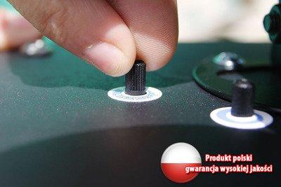 Polski solarny odstraszacz dźwiękowy na ptaki