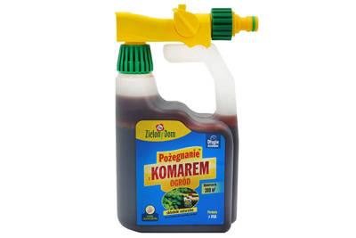 Pożegnanie z komarem Zielony Dom (konewka) 950ml - odstraszacz komarów do ogrodu + uzupełnienie 950ml