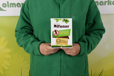 Profesjonalny środek biobójczy na krety i nornice Difenor 450g