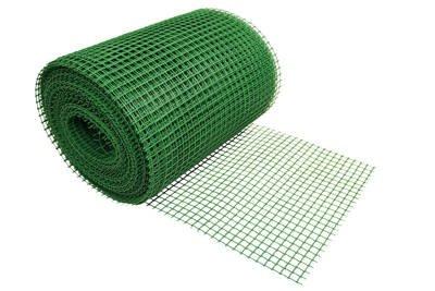 Siatka rabatowa 0,6x25m zielona
