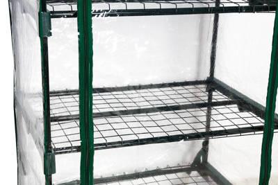 Szklarnia balkonowa Balcony 4 – lekka konstrukcja 50 cm x 70 cm x 158 cm