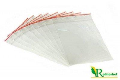 Torebki strunowe, woreczki foliowe 350x450mm – 100 sztuk