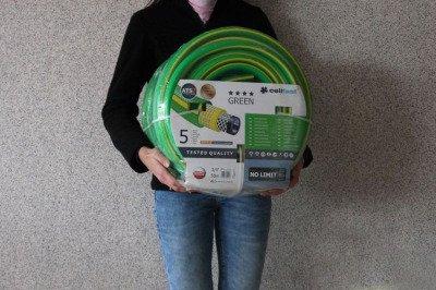 """Wąż ogrodowy nie skręcający się Green ATS2 3/4"""" 50m"""