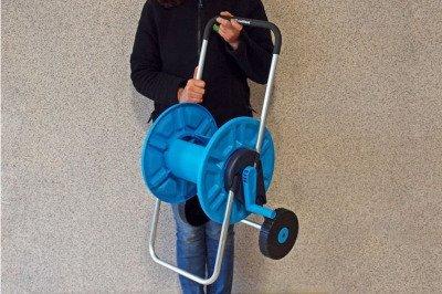 """Wózek na wąż ogrodowy - odporny na korozję 1/2"""" 60 m ALUPLUS Cellfast"""