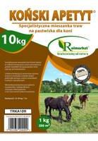 Trawa pastwiskowa Koński Apetyt 30 kg – specjalistyczna mieszanka traw pastewnych do wypasu koni